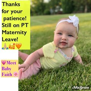 On part time maternity leave still!